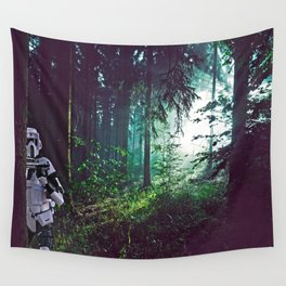 Trooper on Endor Wall Tapestry