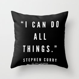 22       |  Sport Quotes | 190527 | Black Throw Pillow
