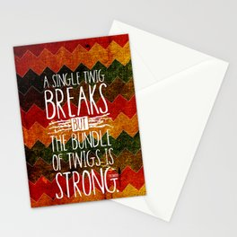 Tecumseh Quote Stationery Cards