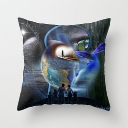 The Reality Shifters Throw Pillow