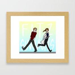 FitzSimmons Framed Art Print