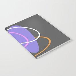 Mid Century Retro Pastel Design Notebook