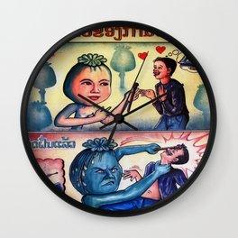 The Opium Eater  Wall Clock