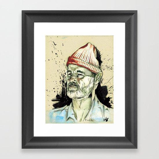Aquatic Framed Art Print