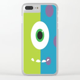 Monsters Inc. No. 6 Clear iPhone Case