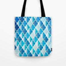 Geo-Ocean Tote Bag