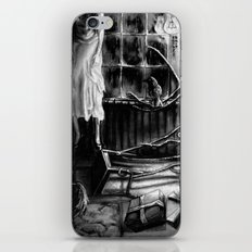 The magic of that Christmas tree. It wraps itself around us every year and will go on forever. iPhone & iPod Skin