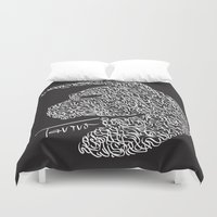 taurus Duvet Covers featuring Taurus by freebornline