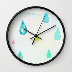 Raindrop Wall Clock