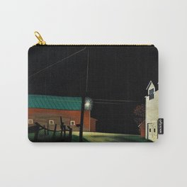 12,000pixel-500dpi - George Copeland Ault - Bright Light at Russell's Corners - Digital Remastered Carry-All Pouch
