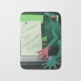 Awesome Frog Bath Mat