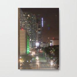 Caminantes de la noche Metal Print