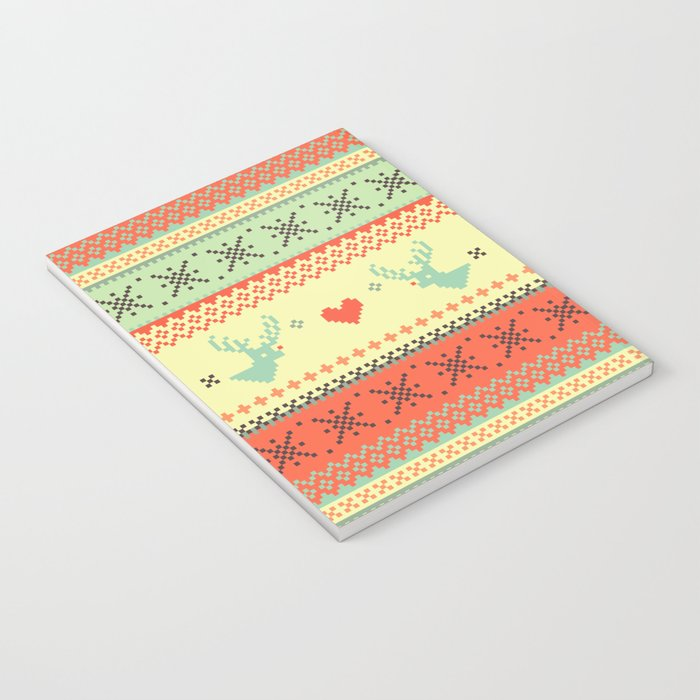 Holiday Pixels Notebook