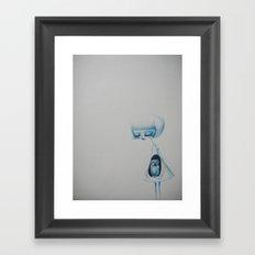 the owl's daughter Framed Art Print