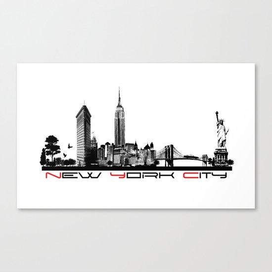 New York City skyline elegant by jbjart