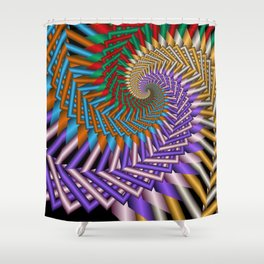 another crazy pattern -101- Shower Curtain