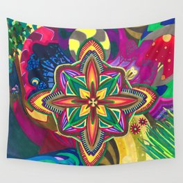 The Cosmic Owl pt. 1 Wall Tapestry