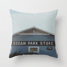 Ocean Park Store Throw Pillow