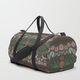 WATER FLORAL Duffle Bag