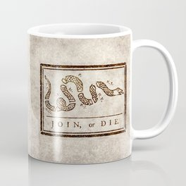Join or die Coffee Mug