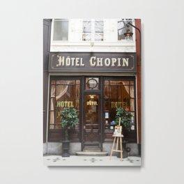 Hôtel Chopin Grands-Boulevards Paris Metal Print