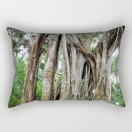 Beautiful Banyan Tree Rectangular Pillow