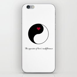Stubborn Love iPhone Skin