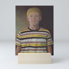 Sergi youth Mini Art Print