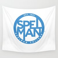 swag Wall Tapestries featuring Spelman Swag by SpelHouse Swag