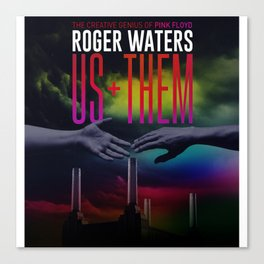 Roger Water US+THEM Canvas Print