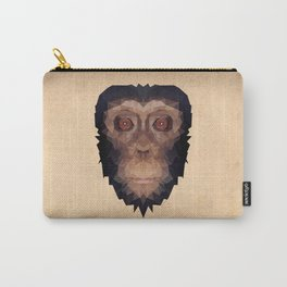 Polygon Monkey_Whole Face Carry-All Pouch