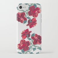 iPhone Cases featuring Red Roses by Heart of Hearts Designs