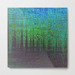 AN ANCIENT FORREST ON VIRGIL FOUR Metal Print