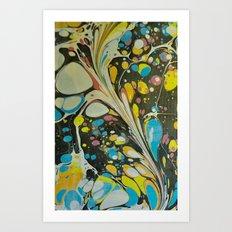 Marble Print #10 Art Print