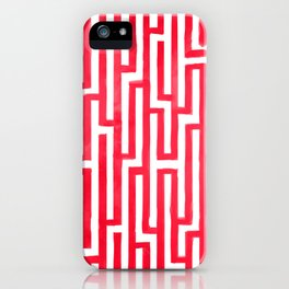 Enter the labyrinth iPhone Case