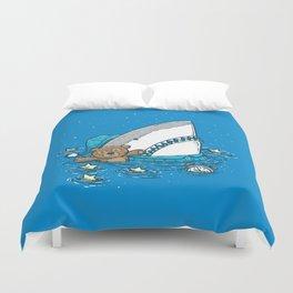 The Sleepy Shark Duvet Cover