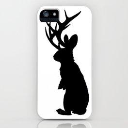 Jabberwock Jackalope iPhone Case