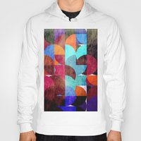 grafitti Hoodies featuring Retro colorful by LoRo  Art & Pictures