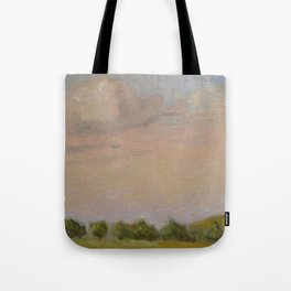 Sunset Painting Tote Bag