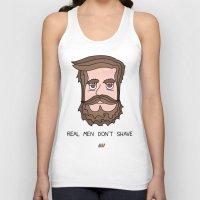 beard Tank Tops featuring Beard by My Big Fat Brand