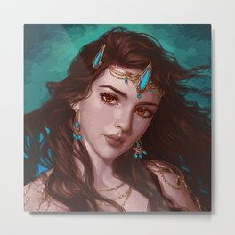 Atlantis Beauty Metal Print