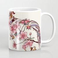 blossom Mugs featuring Blossom by Huebucket