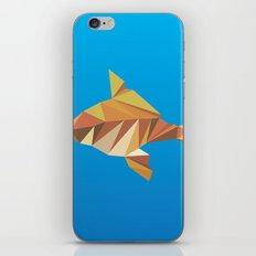 Geometric Goldfish iPhone & iPod Skin