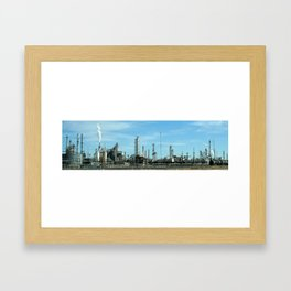 Factory for Bowie Framed Art Print