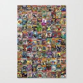 Comic Books Canvas Print