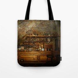 Riga Black Balsam Bar in Riga Latvia Tote Bag