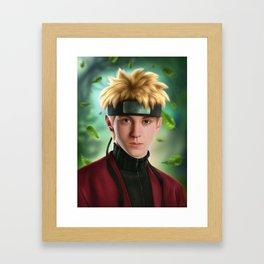 Naruto Uzumaki Framed Art Print