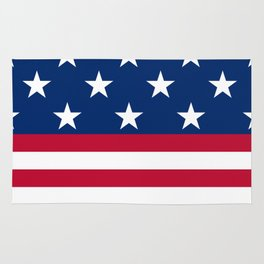 US Flag Rug