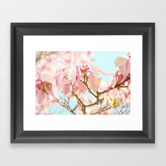 Happy Daydream Framed Art Print
