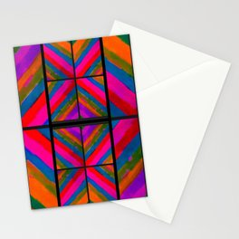 many colored angles Stationery Cards